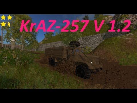 Mod Vorstellung Farming Simulator Ls17:KrAZ-257 V 1.2