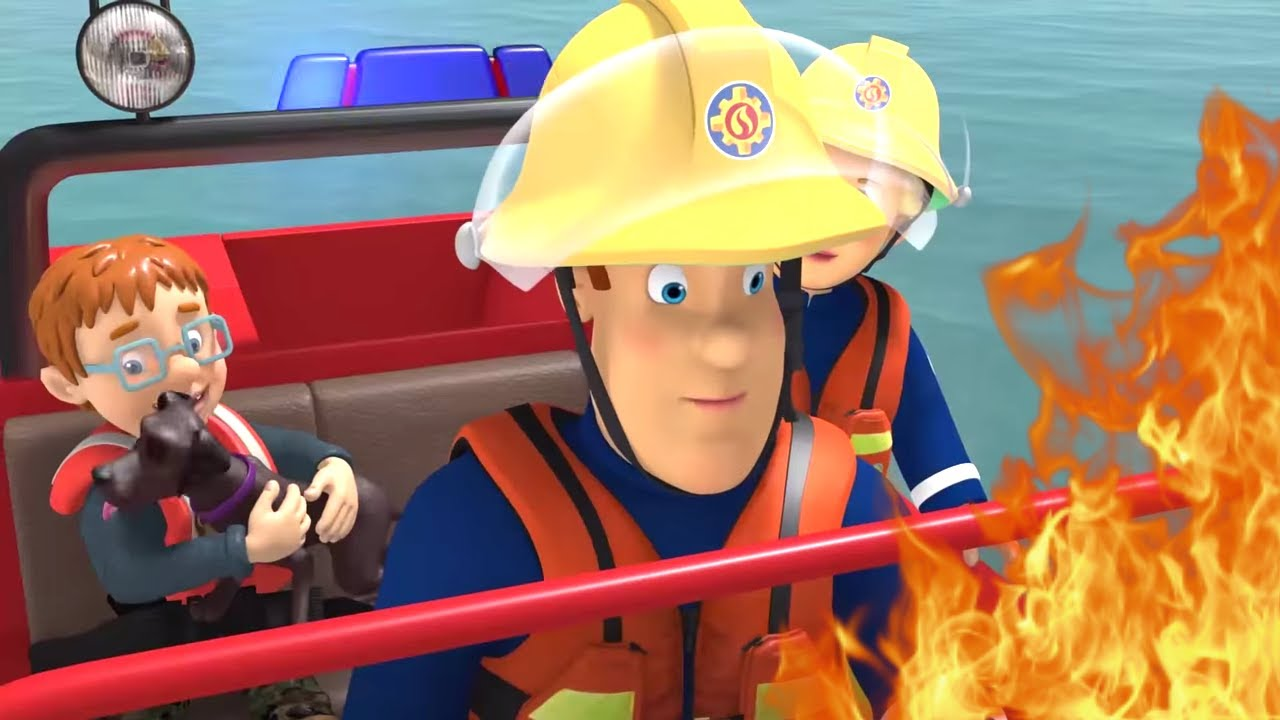 It's just an image of Modest Fireman Sam Pic