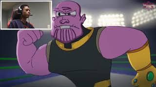 Darkseid vs Thanos Cartoon Beatbox Battles REACTION!