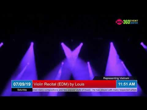 Violin Recital (EDM) by Louis