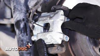 Como trocar pinça de travão traseiros BMW X5 E53 TUTORIAL | AUTODOC