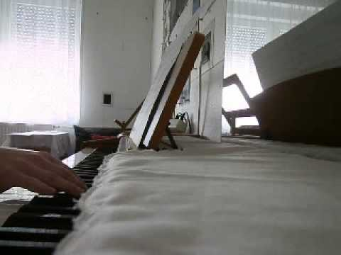 Nils Frahm - Because This Must Be (piano cover)