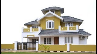Small Modern House 1300 Sft for 13 Lakh | Elevation | Design | Interiors