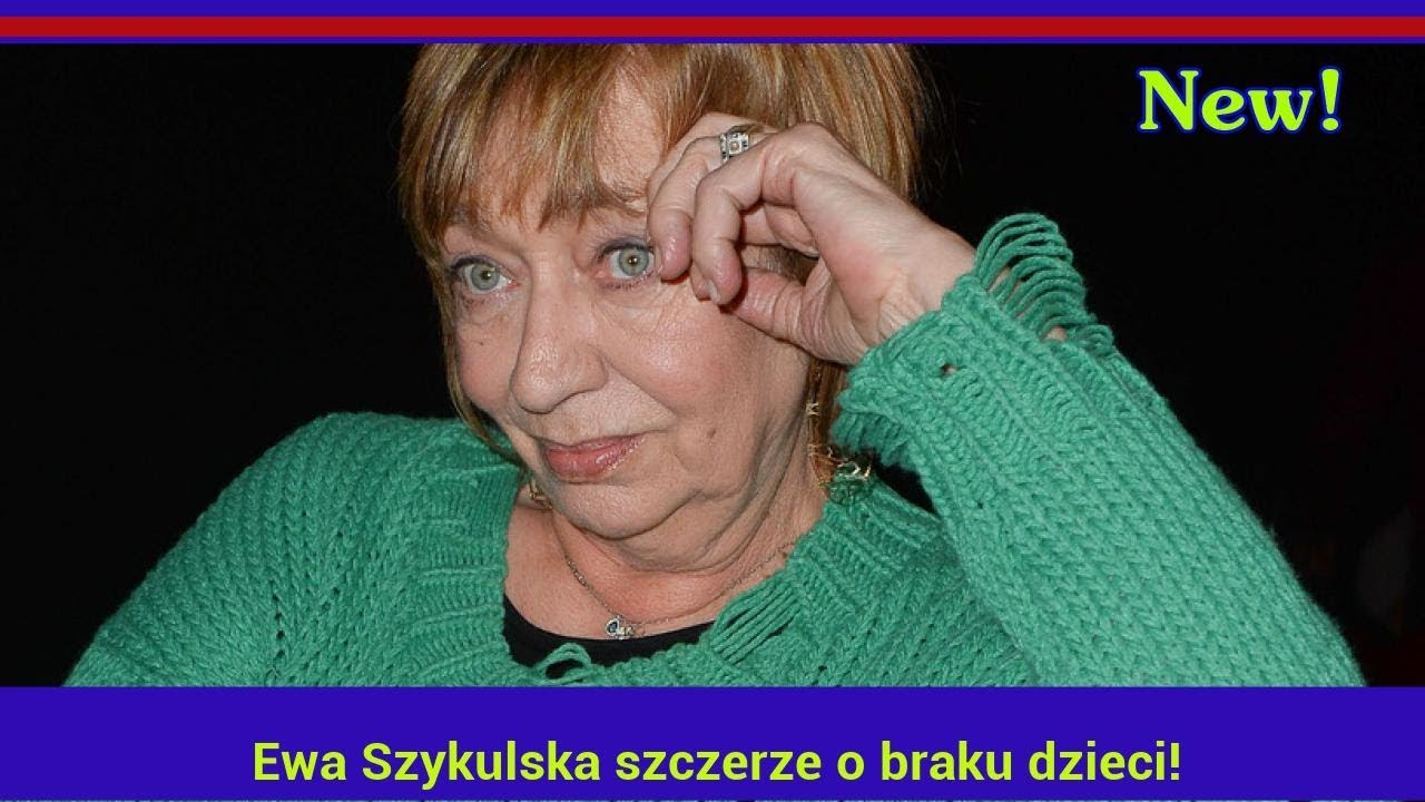 Ewa Szykulska szczerze o braku dzieci!