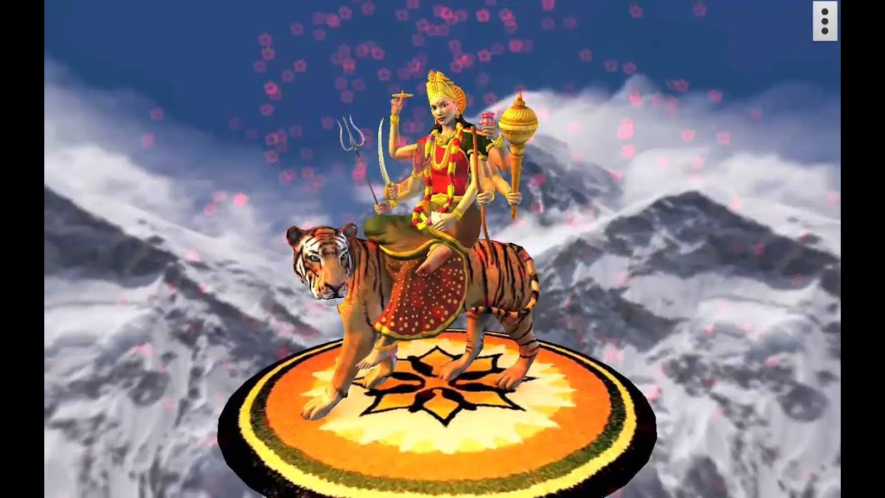 3d Durga Free Mobile App Youtube