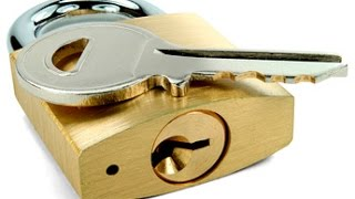 видео На алиэкспресс замок и ключ