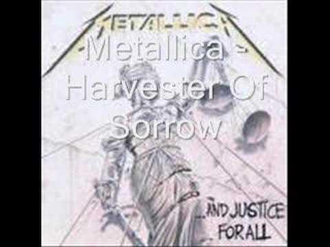 Metallica - Harvester Of Sorrow (with lyrics)