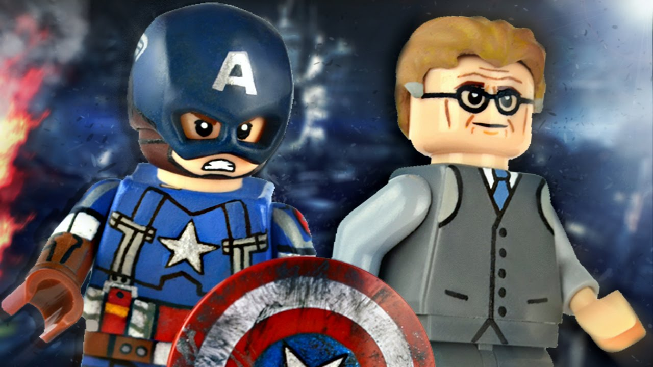 Lego marvel captain america golden age alexander pierce showcase youtube - Lego capitaine america ...