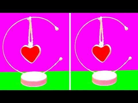 DIY Paper Heart Showpiece   VALENTINES DAY CRAFT IDEAS   EMMA DIY #29