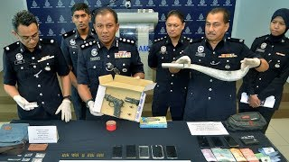 Double Seven gang member nabbed for firing shot into air in Shah Alam
