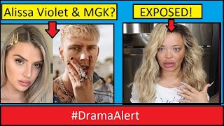 Alissa Violet & MGK ??? #DramaAlert Trisha Paytas tries to take down Small YouTuber!