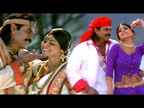 Ja Ji Ri Ja Ji Ri Mama  Full Video Song || Subash Chandra Bose || Venkatesh, Shriya, Genelia