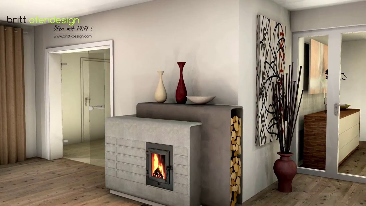036 britt ofendesign fireplacedesign kachelofen modern tiled stove contemporary youtube. Black Bedroom Furniture Sets. Home Design Ideas