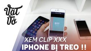 Vật Vờ| Clip này làm cho iPhone bị treo ngay lập tức !!
