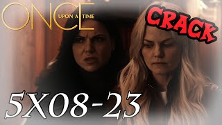 OUaT - 5x08-23 CRACK [♛ Swan Queen Edition ♛]