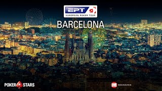 EPT BARCELONA Main Event, Day 2 (Cards-Up)