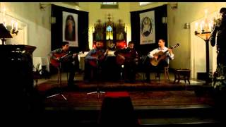 Orontes Guitar Quartet - Omi Ya Malaki - أمي يا ملاكي
