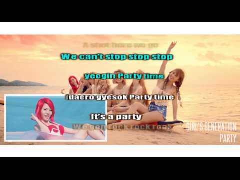 Party - Girls' Generation /SNSD (Karaoke/Instrumental)