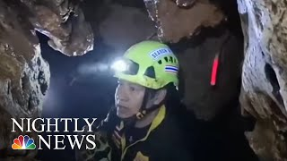 Four Rescued From Thailand Cave As Mission To Save Trapped Soccer Team Continues | NBC Nightly News