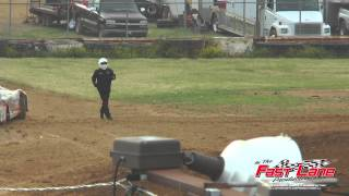 Brownstown Speedway : 05-24-2014 : Jeremy Hines vs Dillan White