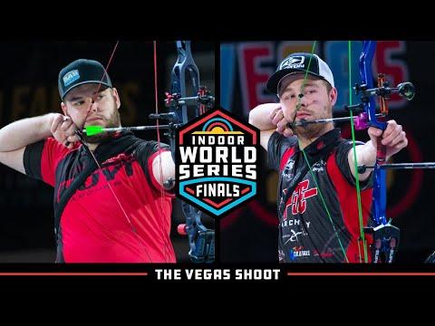 Mike Schloesser v Stephan Hansen – compound men's gold   Indoor World Series Finals 2020