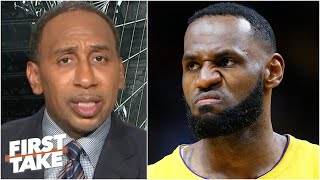 Stephen A. reacts to LeBron clapping back at Jay Williams for Scottie Pippen comparison | First Take