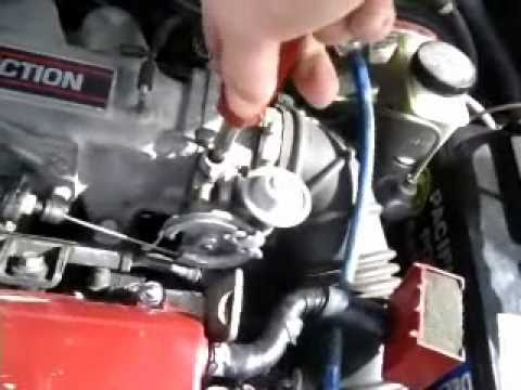 Fuel Filter On 1990 Honda Accord How To Fix Your Stumbling Idle Issues Youtube