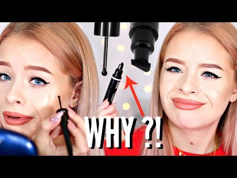 WTF ARE THESE EYELINERS..REALLY?! WHEELS + STAMPS?! | sophdoesnails