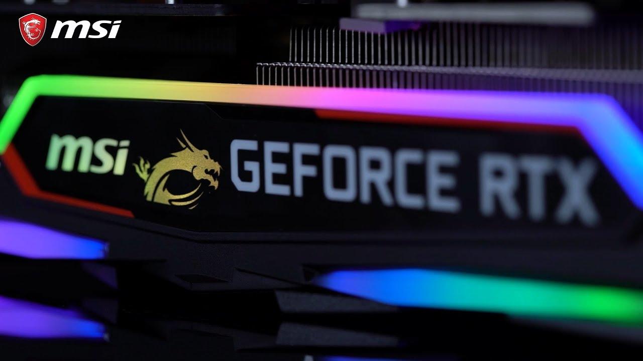Laissez-vous séduire par la carte graphique GeForce® RTX 2080 GAMING X TRIO