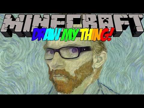 JAYCENT VAN GOGH 🎮 Minecraft Draw my Thing #31