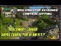 NOX Keyboard Control Setting !!! Dragon Nest M - Cara Hapus Character?? Lv 35 Mercenary PVP Ladder