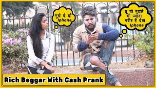 Rich Beggar with Rs. 10,00,000 💰💰🇮🇳Cash Prank | RDS Production