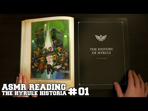 ASMR Reading - The Hyrule Historia #01 (Soft Spoken)