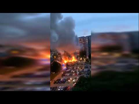 BREAKING: Massive RIOTS all over Sweden - 60 cars on fire