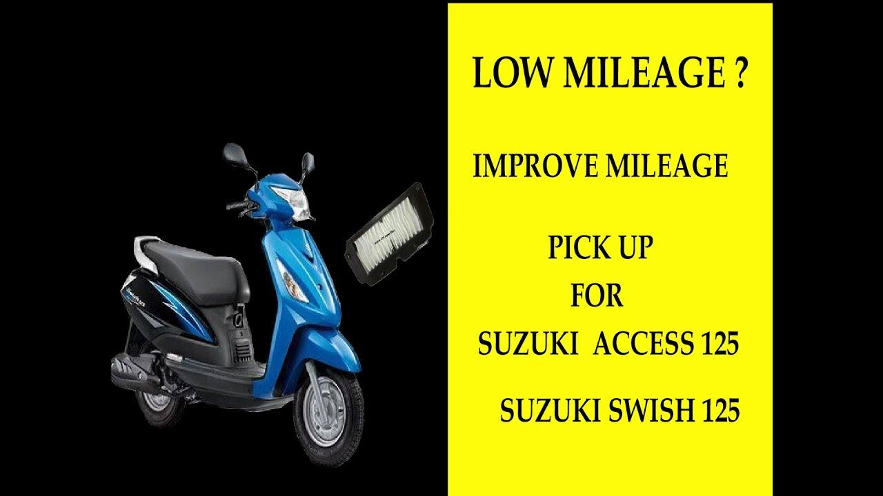 How to Change SUZUKI ACCESS 125/SUZUKI SWISH 125 Air filter by yourself  (DIY)
