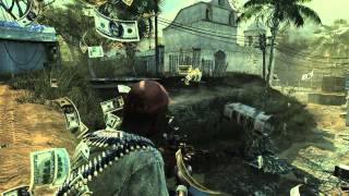 MW3 - quick scope vs throwing knife