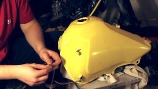Как удалить ржавчину с бензобака мото.(, 2016-04-06T04:58:58.000Z)