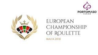 European Championship Of Roulette -Portomaso Casino April 2018-