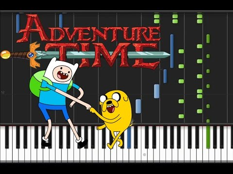 Adventure Time  Theme Song Piano Tutorial ♫