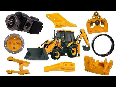 Original JCB Spare Parts Manufacturing Company | Robot India