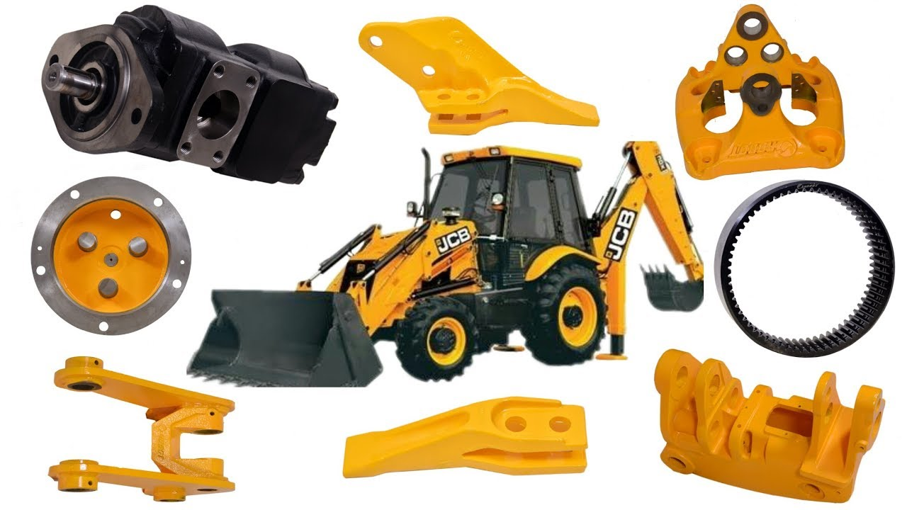 Original JCB Spare Parts Manufacturing Company | Robot India |