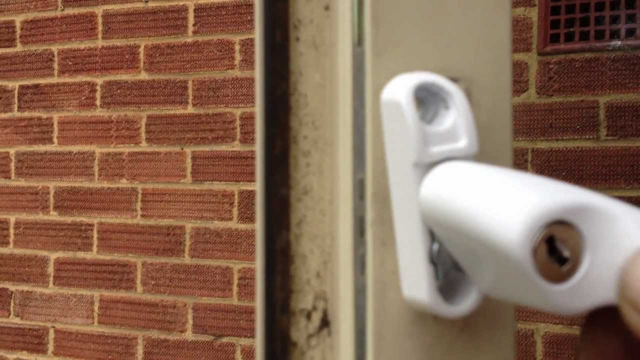 How To Remove Broken Key From Lock >> 2012 How to Fit double glazing Window Locks - YouTube