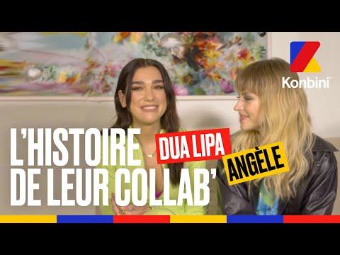 Youtube: EXCLU: Dua Lipa Ft. Angèle, l'histoire de leur collaboration l Interview l Konbini