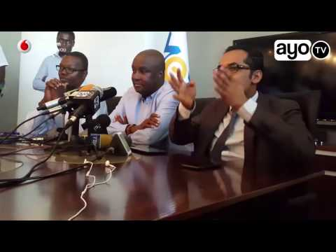 Press Conference - Simba Sports Club - Millard Ayo - August 2016 - Mohammed Dewji