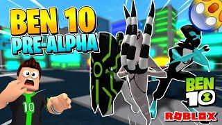 ROBLOX BEN 10 ARRIVAL DE ALIENS: ¡TODOS LOS ALIENS! [Pre-alfa] (Entrevista al desarrollador)