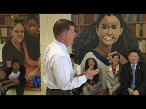 Boston Community Leadership Academy Mural Unveiling