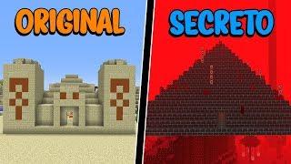 Mega Survival #16: VOCÊ CONHECE A PIRÂMIDE SECRETA E AMALDIÇOADA DO MINECRAFT?