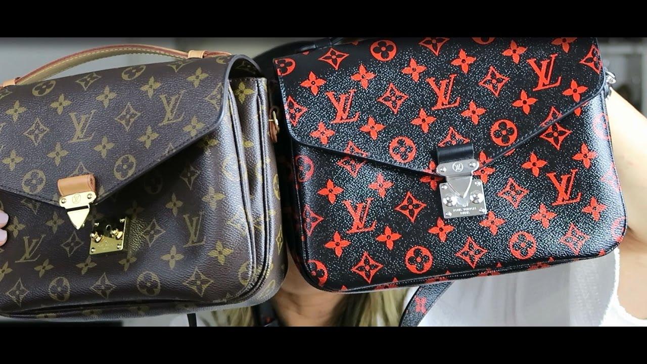 61ee576ad Louis Vuitton Infrarouge Monogram Pochette Metis Unboxing + Comparison by  Tee Mankiewicz