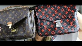 Louis Vuitton Infrarouge Monogram Pochette Metis Unboxing + Comparison