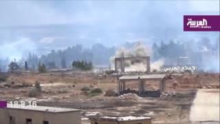 موجز #العربية /18 أغسطس/  12 غرنيتش: معارك عنيفة في #تعز.. وحديث عن هدنة إنسانية في #حلب
